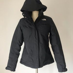 The North Face fleece lined jacket hyvent size Med